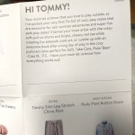 Tommy's welcome message!