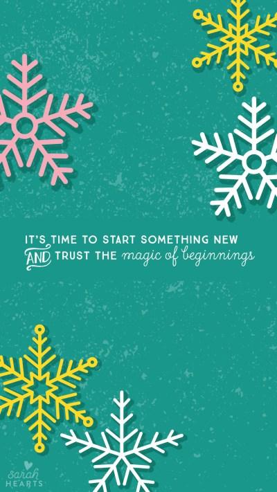 January 2016 Calendar Wallpaper - Sarah Hearts