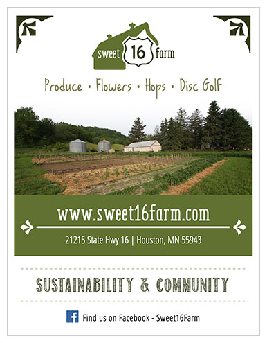 Sweet 16 Farm Flyer