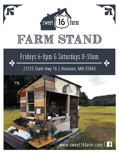 Farm Stand Promotional Flyer