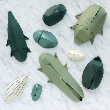 Sarah Louise Matthews 3D Paper Engineering Bugs