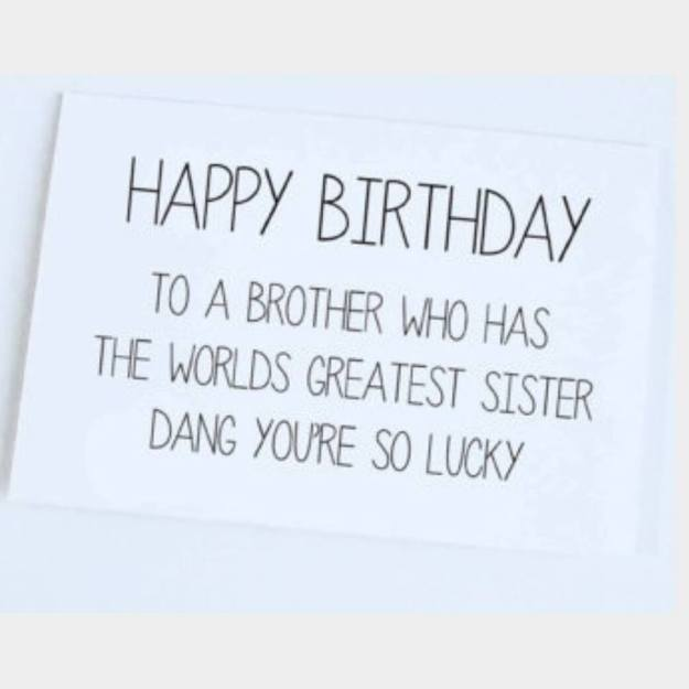 birthday to brother