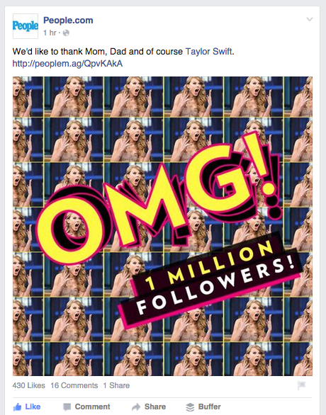 People Magazine 1 Million followers on InstagramScreen Shot 2015-10-07 at 1.19.32 PM