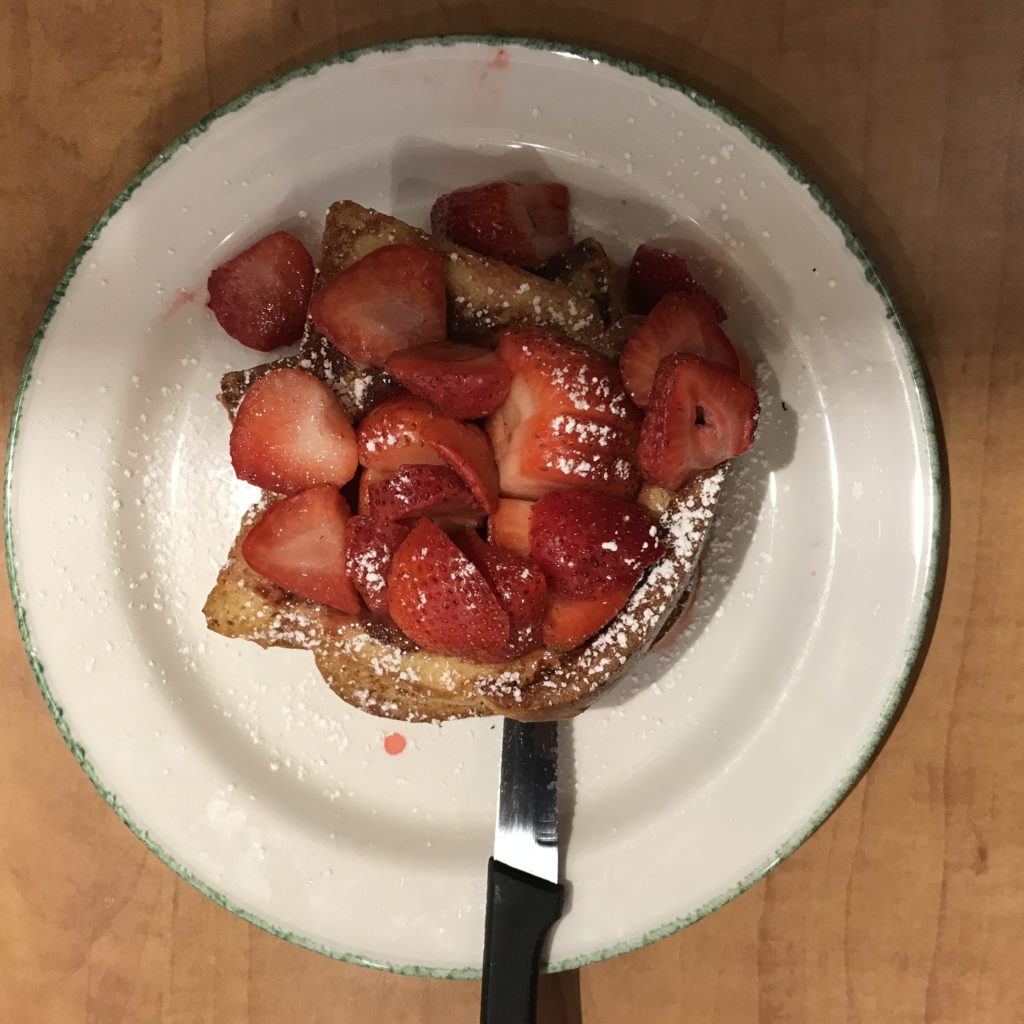 Hot On The Street - Kitchen Renovations - Strawberry French Toast