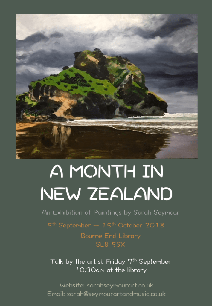 A Month in New Zealand Flyer