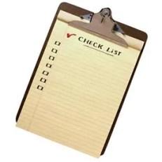 January Check List