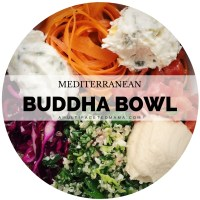 Mediterranean Inspired Buddha Bowl