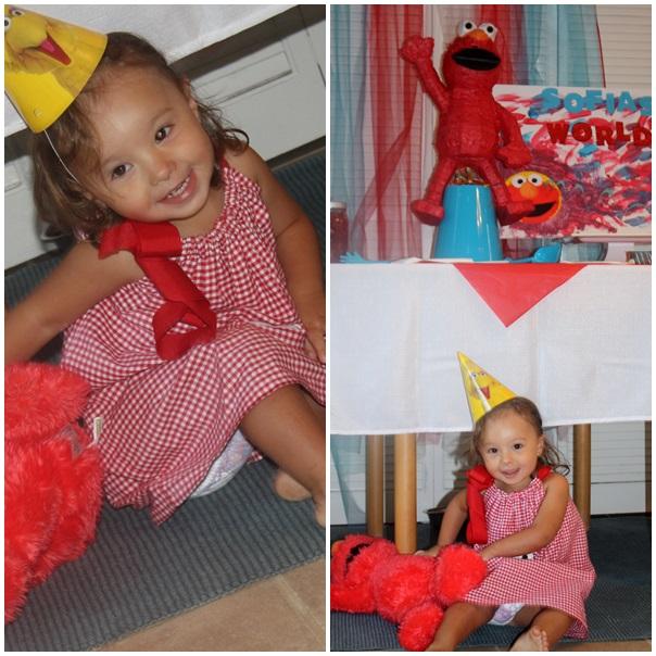 Elmo Themed Party
