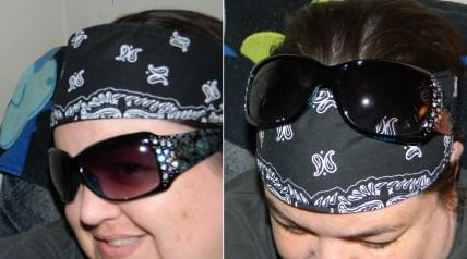 3 Assorted Bandana Headbands No Slip, No Drip Sport Headbands