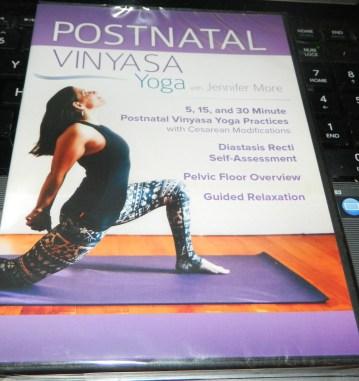 Postnatal Vinyasa Yoga DVD