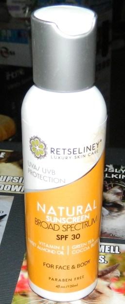 Retseliney Best Anti Aging Sunscreen Lotion