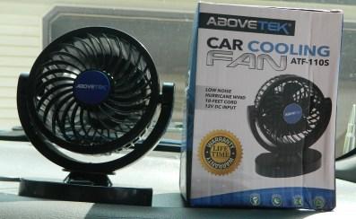 AboveTEK 12V DC Car Cooling Fan