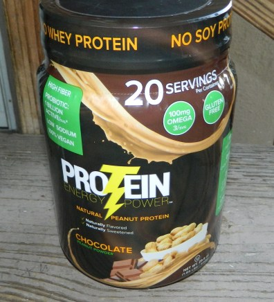 Protein Plus - Chocolate Peanut Powder - Protein Energy Powder - 30 Servings