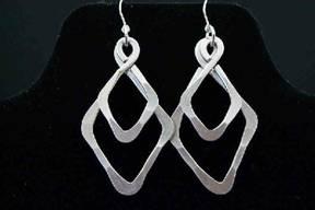 Diamond Double Earrings