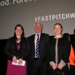 Hope with coaches Paul Beatty and Baillie Chisick