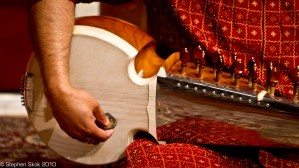 Close up of my sarod