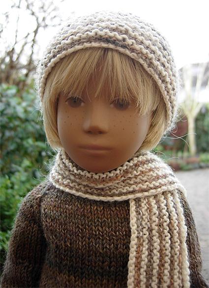 Boy Sweater Orange 1