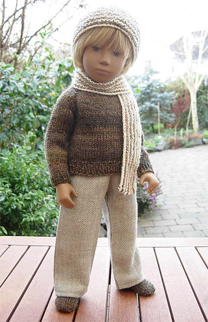 Boy Sweater Orange 2