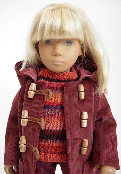 Sasha Sweater Orange 1