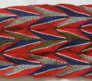 Sash pattern famous for its association with a medical doctor, killed in 1837, wore a sash of this pattern
