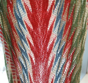 loosely woven sash