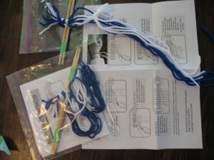 Kit to make a friendship bracelet