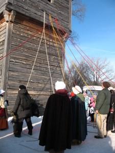 Fort Sashweaving Dance starts