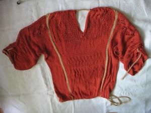 Sprang Sweater, June 2010