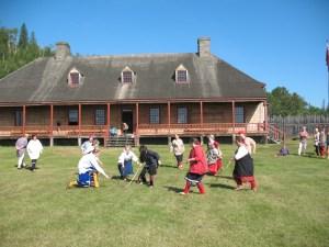 games at Grand Portage