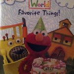 Childrens Learning DVDs Elmos World Favorite Things