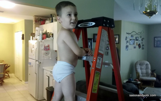 DIY Ladder Kid