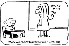Funny Math Cartoon