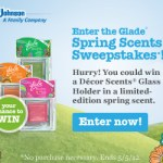 Glade Spring Scents Sweepstakes