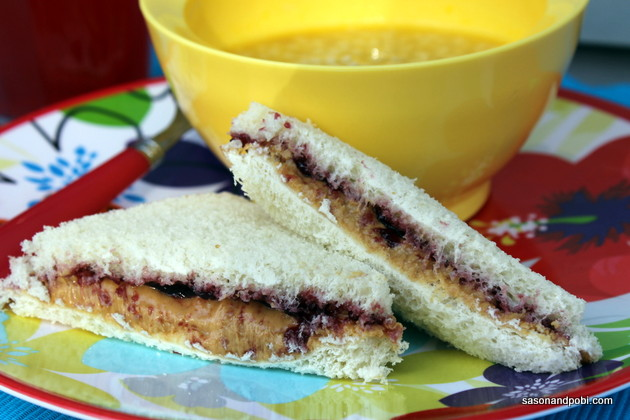 Ours Fav Sandwich Is Jif Peanut Butter and Jelly. What Is Yours?