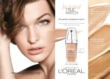 Face-Makeup-Review-Loreal-True-Match-Foundation-Milla-Jovovich-Ad