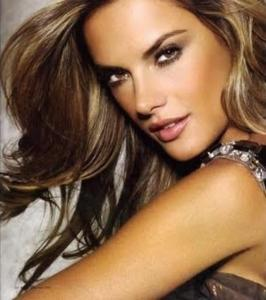 How To Highlight And Contour Your Face with Makeup Alessandra Ambrosio