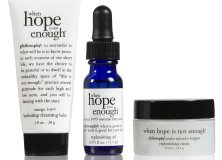 Skincare Reviews Philosophy When Hope is Not Enough Kit