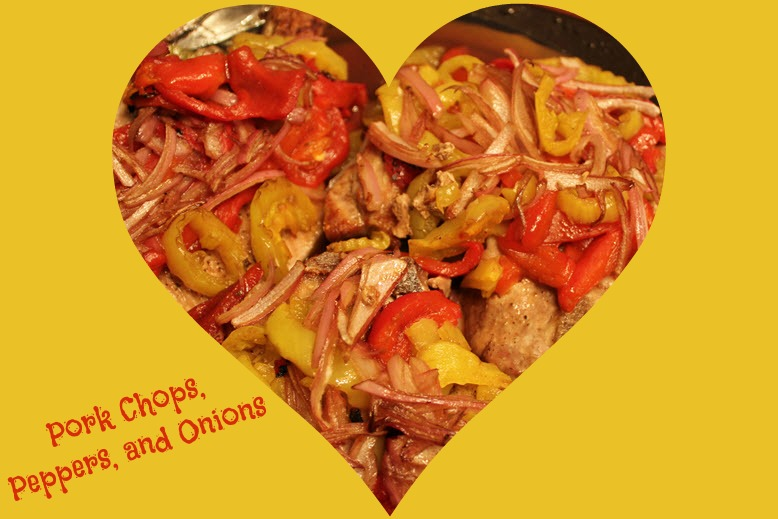 Pork Chops and Peppers Recipe - Sassy Townhouse Living