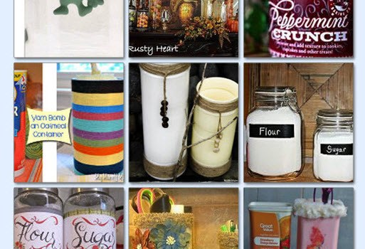 20 Brilliantly Upcycled Canisters - Sassy Townhouse Living