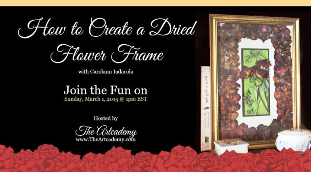 Create a Dried Flower Frame_Carolann_CI