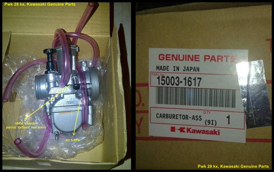 PWK28 KX Genuine Parts