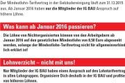Flugblatt - Jetzt Lohnerhöhung sichern!