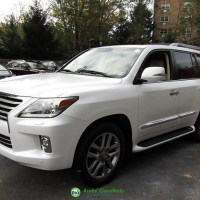 WHITE LEXUS LX 570 FOR SALE
