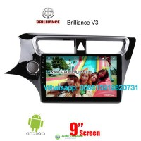 Brilliance V3 Car radio GPS android