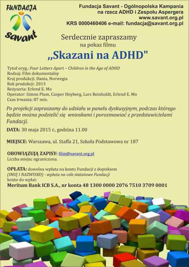 Skazani na ADHD