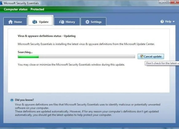 77 e1266564579147 Microsoft Security Essential   Free Virus Remover Tool from Microsoft Team