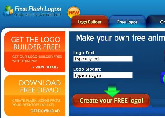 freeflashlogo 9 Best Websites For Designing Your Logos Online For Free