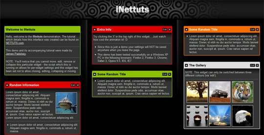 iNettuts 20 Best And Highly Useful jQuery Tutorials For Designers And Beginners