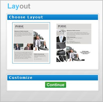 choose layouts How To Create Impressive Welcome Page For Your Facebook Fan Page Absolutely Free