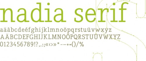 nadia sarif e1279956386345 25 High Quality And Creative Fonts For Free Download